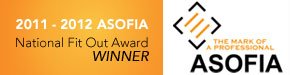National Fit Out Award Winner, ASOFIA